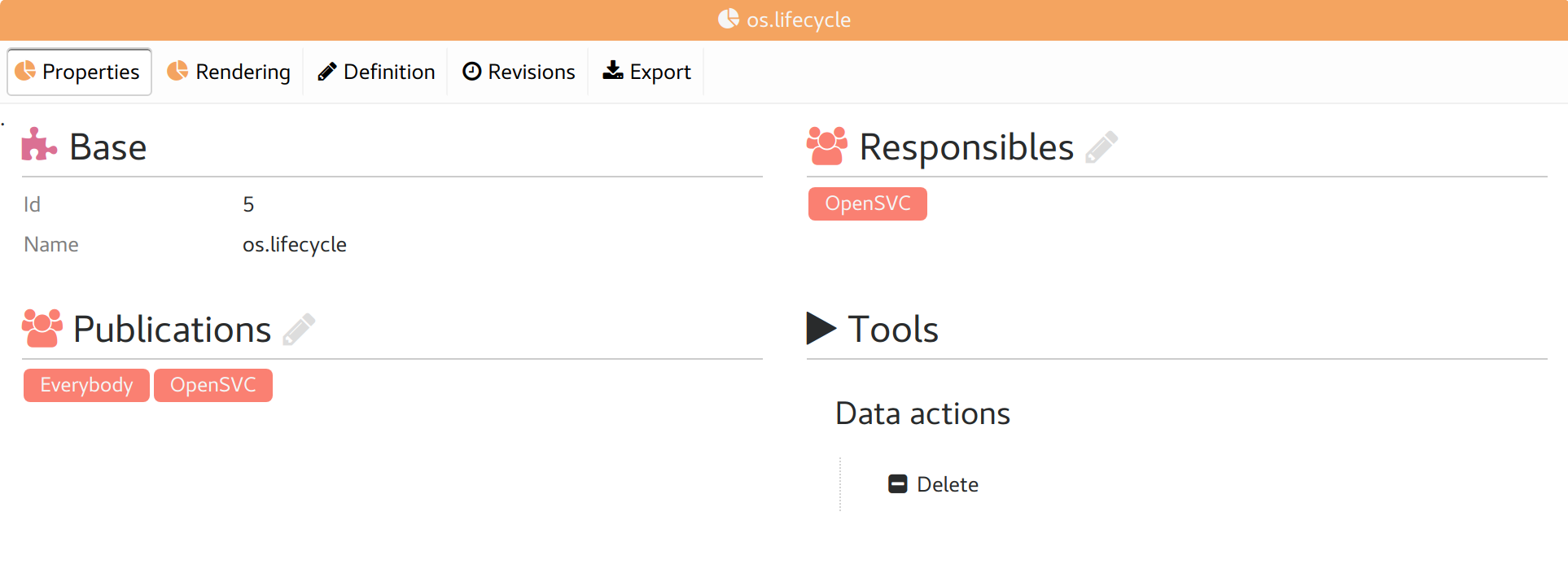 report tabs opensvc 1 9 documentation